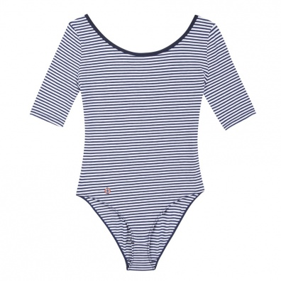POUR ELLE - La Mahaut marinière - Body t-shirt marinière
