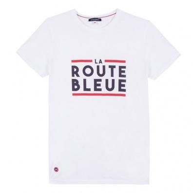 T-Shirts Homme - Le Jean La Route Bleue - T-shirt homme blanc sérigraphié