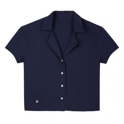 Pyjama shirts - La Elise Blue - Blue Shirt