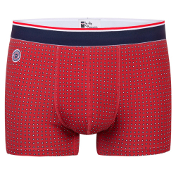 Le Marius Red with pattern - Red Boxer brief with pattern