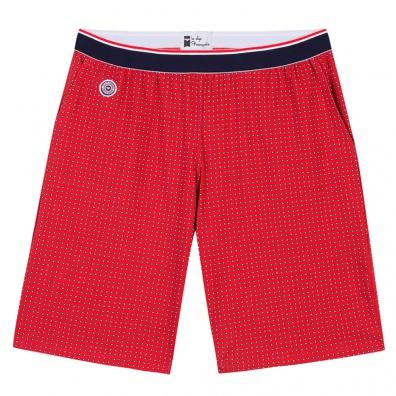 Pyjamas Homme - Le Zouzou As du Volant - Short rouge imprimé