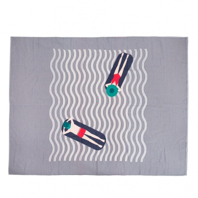ACCESSORIES - La Ciottat - Beach towel with pattern