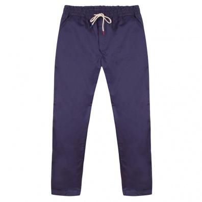 PANTS - Le Simon Navyblue - Navyblue chino pants
