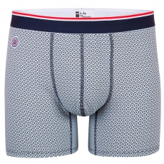 Le Michel Cocardes - Blue sky long boxer brief