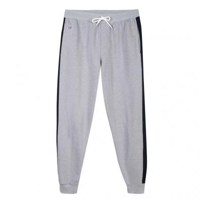 Jogging - Le Yves - Jogging gris avec bande marine