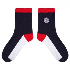 Les Lucie Tricolores - Blue white red socks