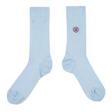 Les Nessy Sky Blue - Sky Blue scottish thread socks