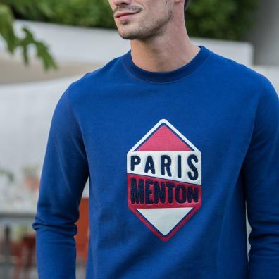 SWEAT-SHIRTS - Le Barthe PARIS MENTON - Indigoblue sweat-shirt