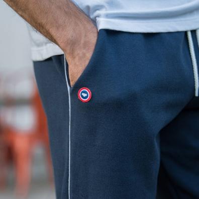 JOGGING - Le Gaël Navyblue - Navyblue jogging pants
