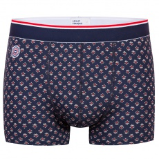 Le Marius PROVENSLIP - Navyblue boxer brief with pattern