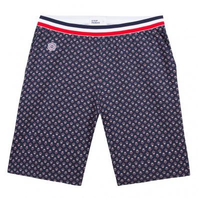 Pyjamas Homme - Le Zouzou Provenslip Marine- Short marine imprimé