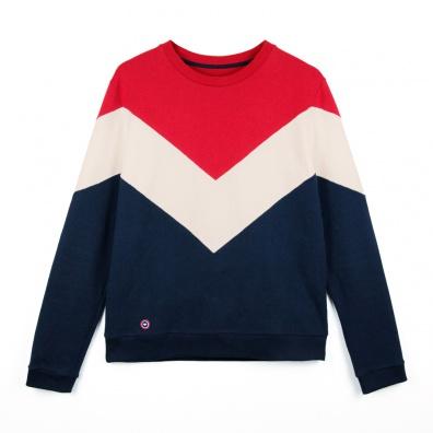 SWEATSHIRTS - Le Jean Claude - Sweat-shirt Tricolore