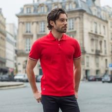 Le Polo Rouge - Polo piqué rouge