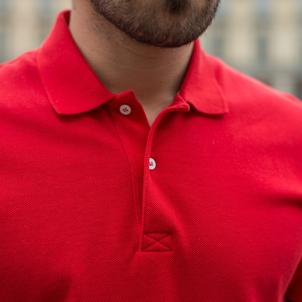 Le Polo Rouge - Polo rouge