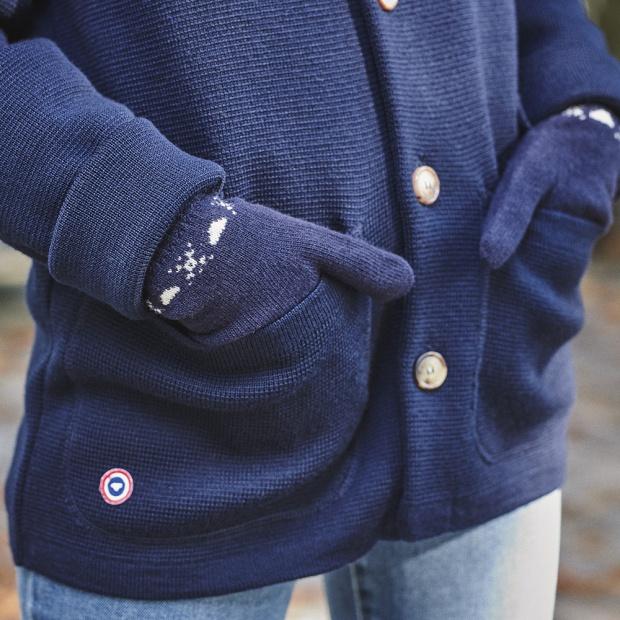 Gants en laine mixtes