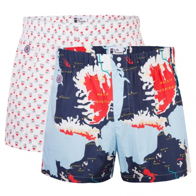 BOXER SHORTS - Le Jacques Duo - Boxer shorts with pattern