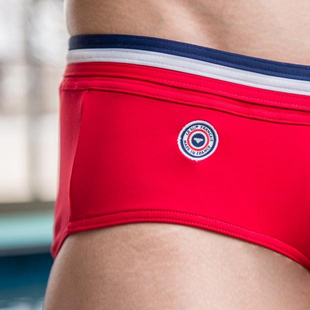 Le Skipper - Red Swim Briefs