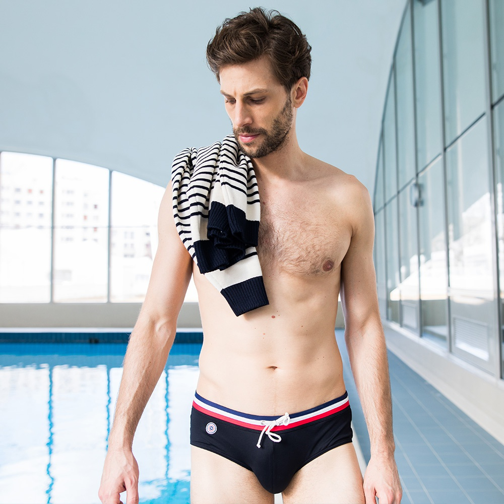 Le Flibustier - Black Swim Briefs