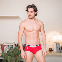 Le Terrible - Slip uni rouge