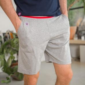 37e4905fdb849 SHORTS - Le Zouzou Grey - Grey shorts