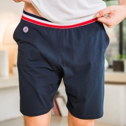 HOME SLIP HOME - Le Zouzou marine - Blue shorts