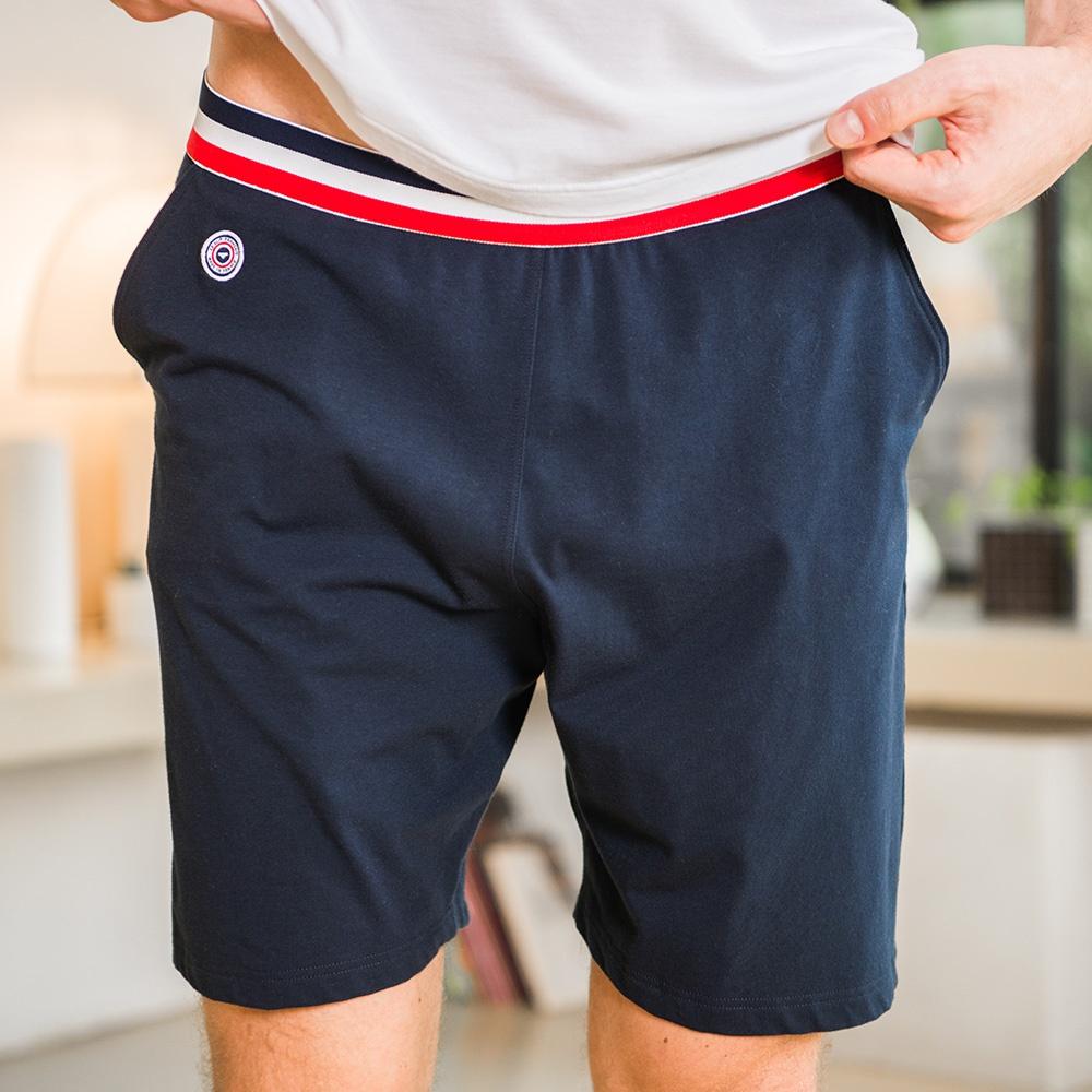 cf093673d46b3 Le Zouzou marine - Blue shorts   Le Slip Français 🇫🇷