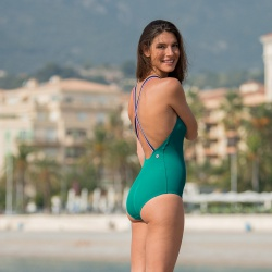 SWIM WEAR - La Nautica Emerald - Emerald green swimsuit