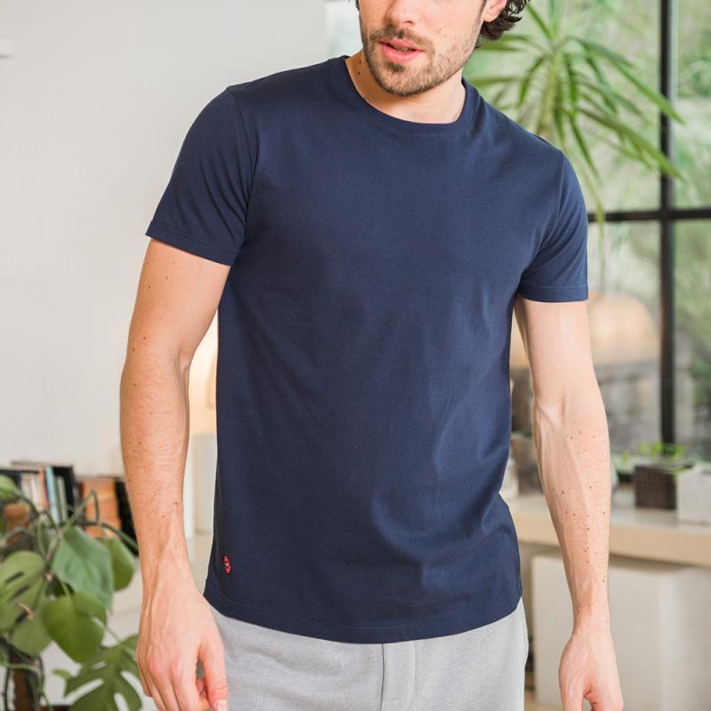 Navy Blue T-Shirt for Men - Le Slip Francais  76cb742fd4b