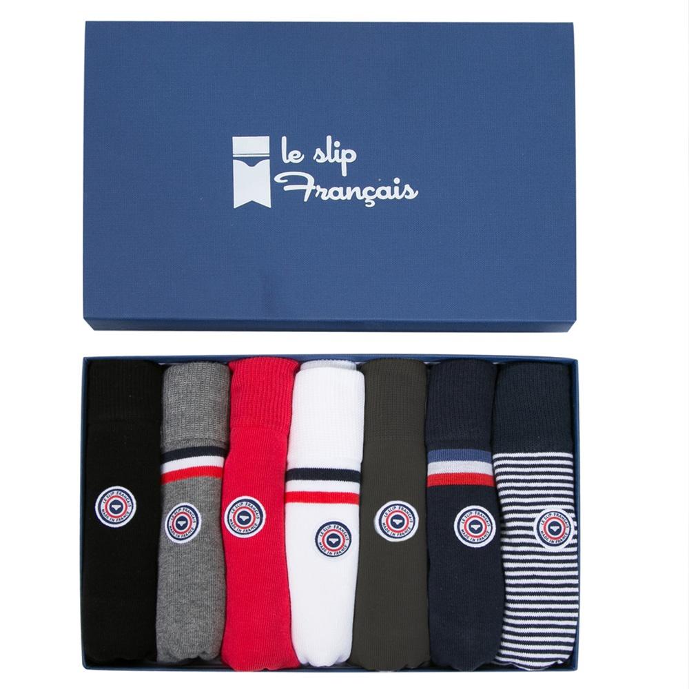 Chaussette Pack Mixte Class Semainier Le Slip Français