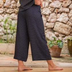 Pyjamas for her - La Nellie Provenslip - Pants with pattern
