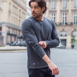 Le Damien - Grey T-shirt