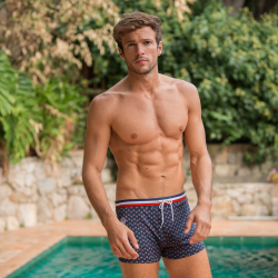SWIM WEAR - Le Triton PROVENSLIP - Swim trunks with pattern