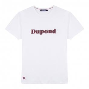 T-shirt blanc sérigraphié
