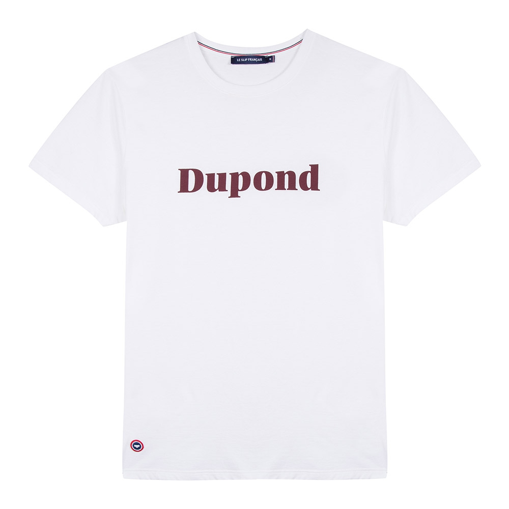 Easywear Haut Mixte Blanc Dupond Le Slip Français