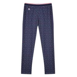HOME SLIP HOME - Le toudou little dots - Navyblue pyjama pants with dots