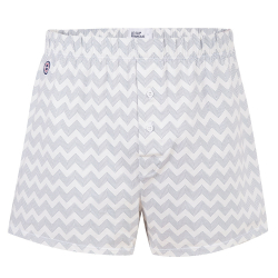 Le Fredo CHEVRONS - Jersey-boxershort with pattern