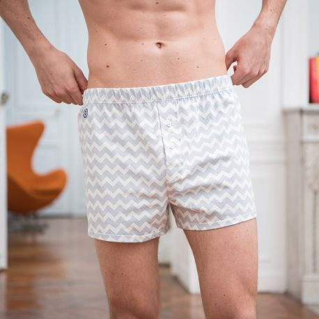 Jersey-boxershort with pattern
