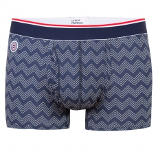 Le ferdinand CHEVRONS NAVY - Navyblue boxer brief with pouch