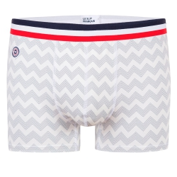 Underwear for Him - Le Marius CHEVRONS - Boxer brief with pattern