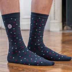 CHAUSSETTES MIXTES EN COTON - Les lucas petits pois - Chaussettes coton imprimées