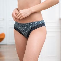 Sous-vêtements Femme - La charlotte caviar vert - culotte classique femme