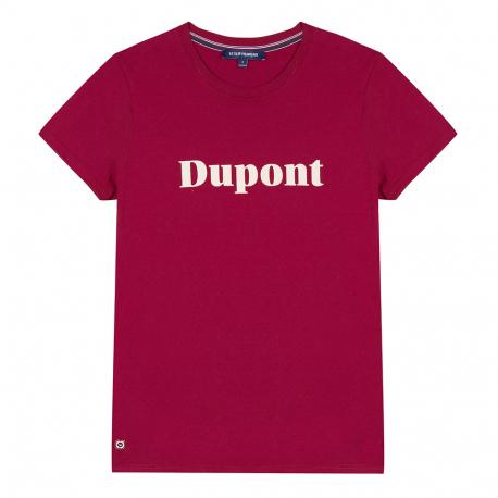T-shirt prune sérigraphié