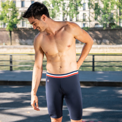 Underwear for Him - Le richard Navyblue - Navyblue cycling shorts