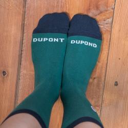 SOCKEN - Les lucas Dupond - Tannengrüne Socken