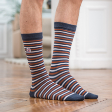 Les lucas stripes - Striped socks