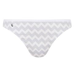 POUR ELLE - La lucette chevron blanc - Lingerie bas culotte femme