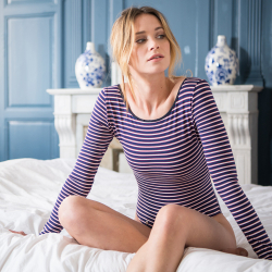 Vêtements Femme - La Albane lignes tricolores - Body femme