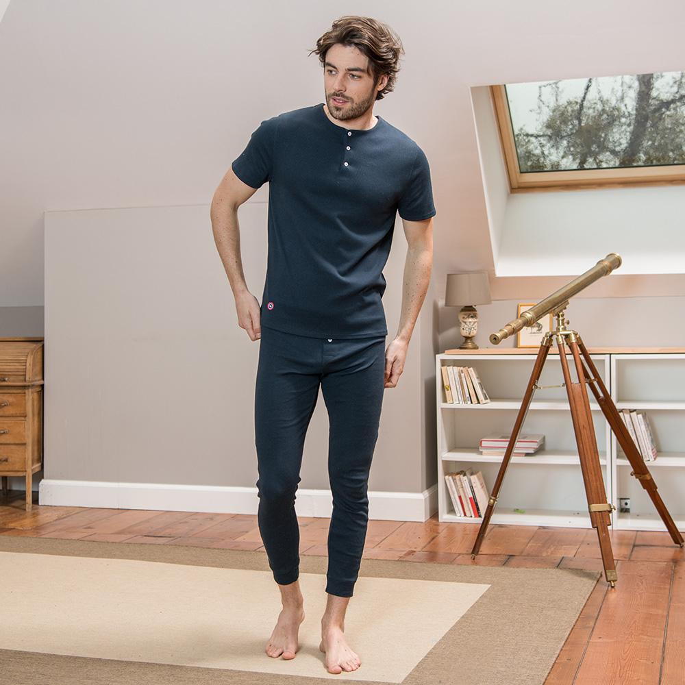 Le john MARINE - Bas pyjama MARINE