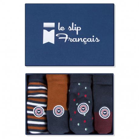 Les lucas quatro LIGNES/REN/POIS/PRU - Chaussettes