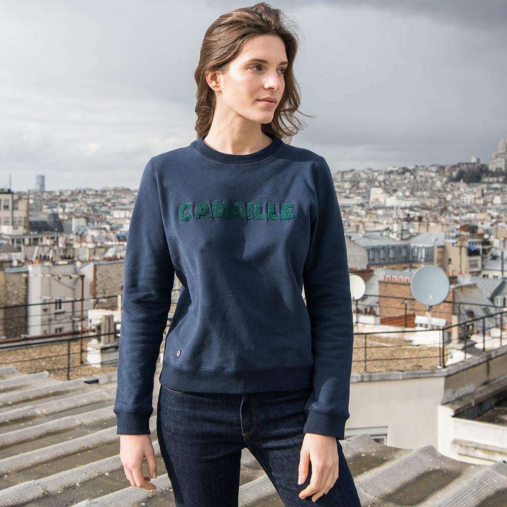 Easywear Haut Femme Marine Canaille Le Slip Français